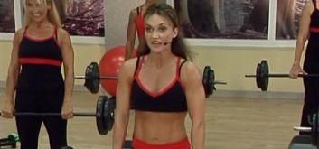 Butts and Guts: тренировка с Кейт Фридрих