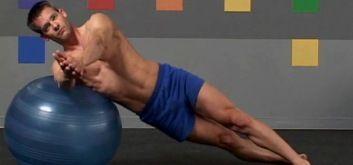 Тренировки с фитболом от Адама Форда