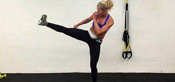 12 тренировок на основе кикбоксинга от Шелли Доз