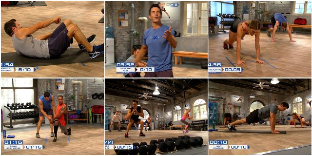 P90 тренировки  P90X3 Workout: Get Ripped In 30 Minutes A
