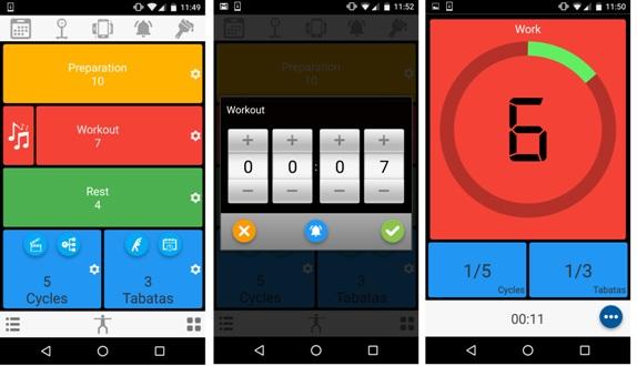 Мобильное приложения с табата-таймером