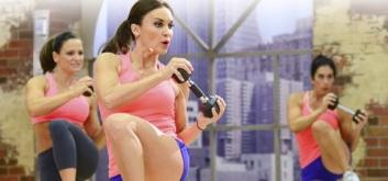 Три тренировки на основе кикбоксинга от Кейт Фридрих