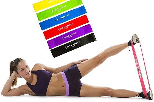 упражнения для похудения ног с фитнес резинкой