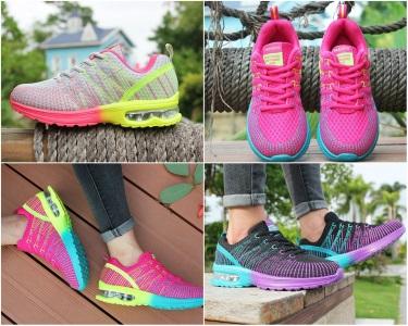 Яркие, легкие и дышащие кроссовки