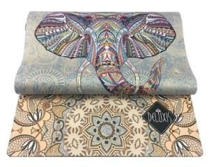 Коврик из натурального каучука со слоном