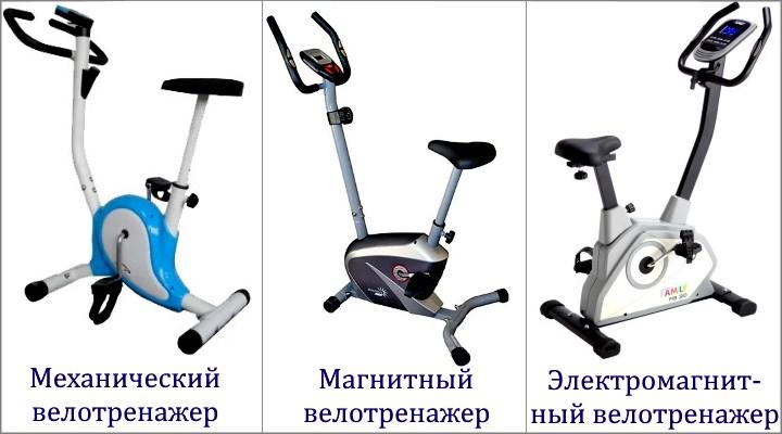 Велотренажер: типы