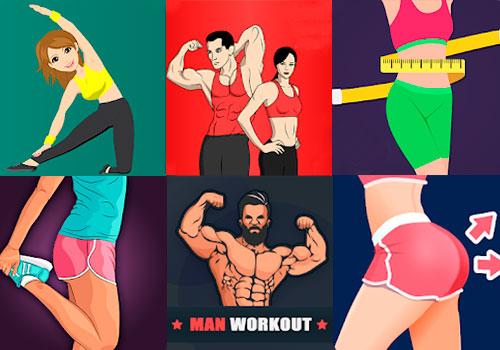 Топ-20 лучших бесплатных фитнес-приложений на Android для тренировок дома