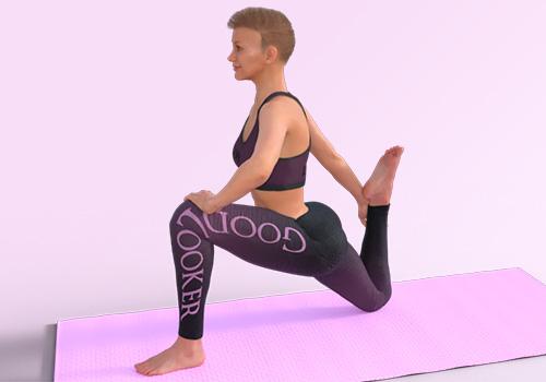 Топ-30 упражнений для растяжки ног