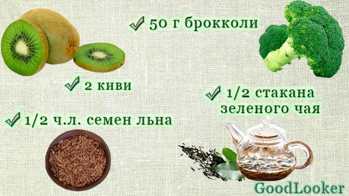 Смузи из брокколи
