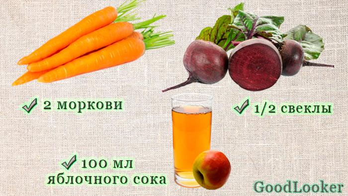 Напиток из моркови и свеклы