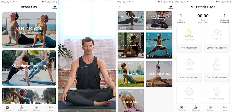 Yoga Workout by Sunsa