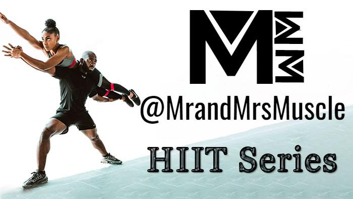 Топ-15 коротких HIIT-тренировок на 10 минут от youtube-канала MrandMrsMuscle