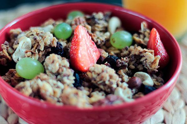 Гранола на завтрак