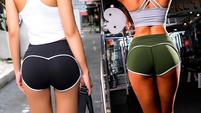 Ультракороткие шорты для спортзала