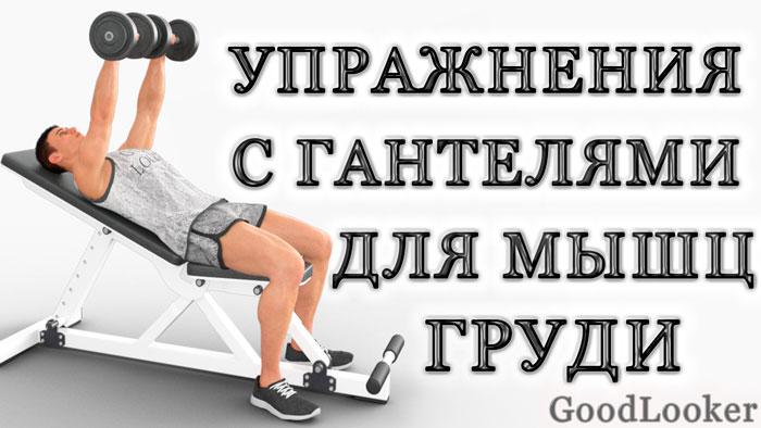 Топ лучших упражнений для мышц груди с гантелями для мужчин и женщин