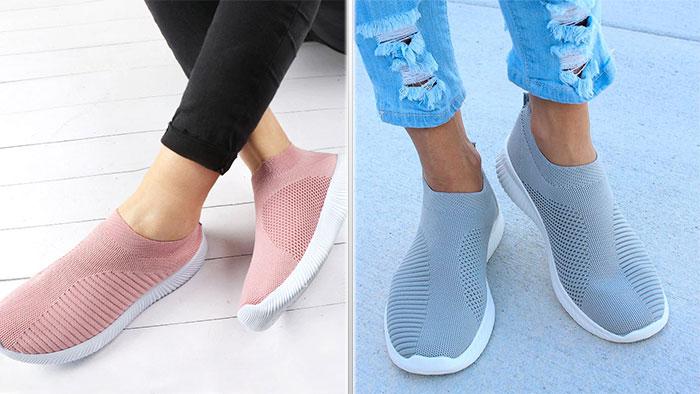 Кроссовки без шнуровки