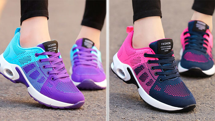 Цветные кроссовки на каждый день