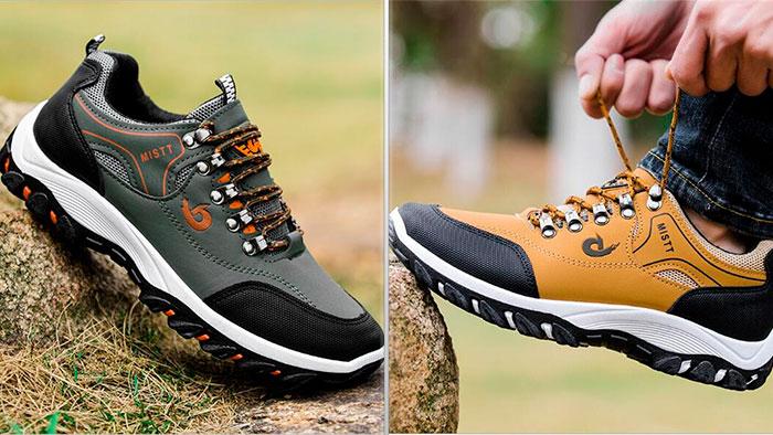 Кроссовки в стиле обуви для трекинга