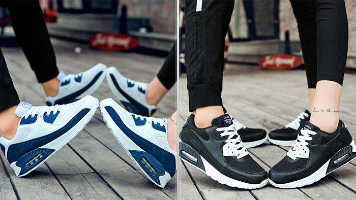 Городские кроссовки с амортизирующей подошвой
