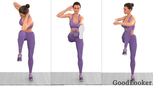 Интервальная тренировка для похудения – ноги, живот, руки