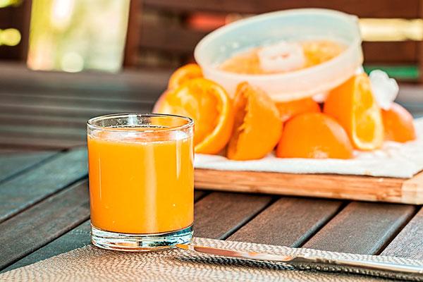 Обогащенный апельсиновый сок