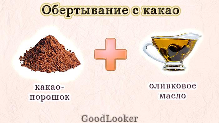 Обертывание с какао