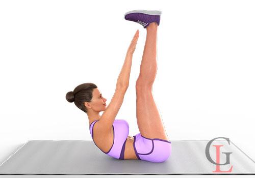 Топ-12 статических упражнений на пресс