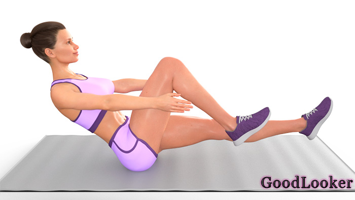 Уголок с согнутыми ногами