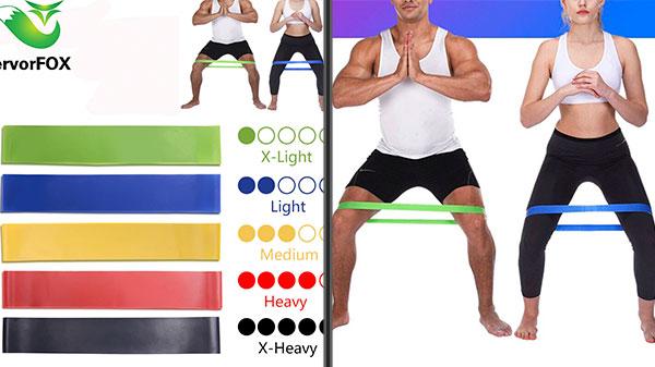 Фитнес-резинки из латекса
