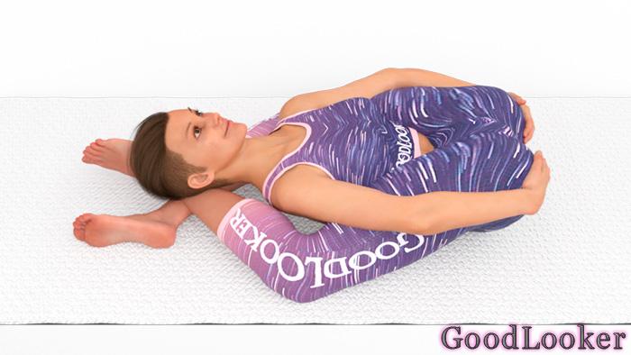 Поза йогического сна