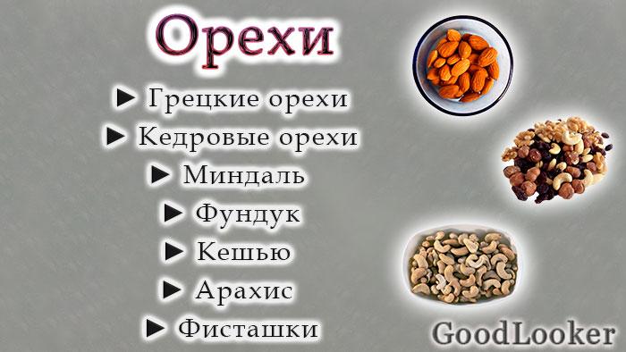 Орехи на ПП