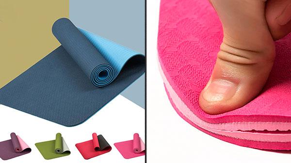 Двухцветный коврик из термопластичного каучука