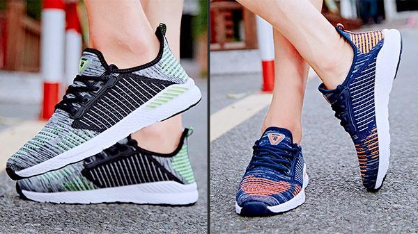 Текстильные кроссовки для спортзала