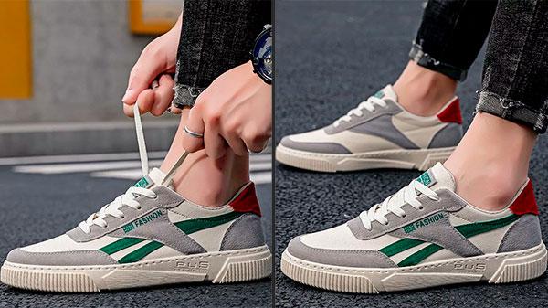 Кроссовки в теннисном стиле