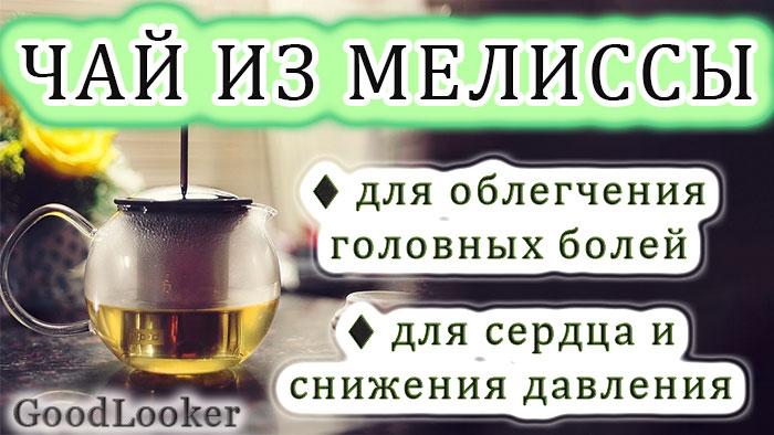 Травяной чай из мелиссы