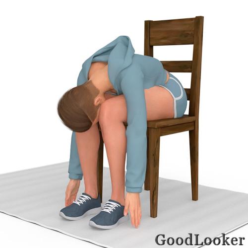 Складка на стуле