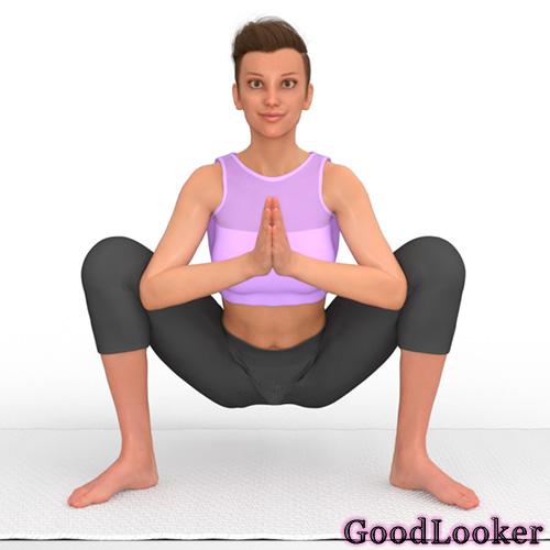 Йога-приседание