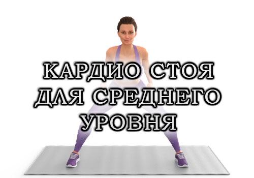Жиросжигающая кардио-тренировка полностью стоя